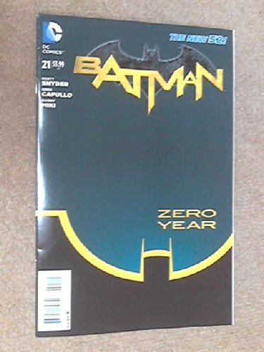 Batman: Zero Year, #21