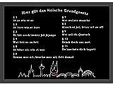 Schöne Fußmatte ~ Kölsche Grundgesetz ~ 50x70 cm Türmatte Schmutzfangmatte Köln