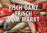 Emotionale Momente: Frischer Fisch vom Markt. (Tischkalender 2019 DIN A5 quer): Ingo Gerlach hat eine Serie von Foto über frischen Fisch auf einem ... 14 Seiten ) (CALVENDO Lifestyle)