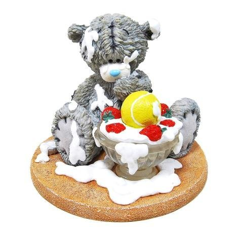 Me to You Strawberry Surprise Tennis Collectable Figurine May 2016 - Tatty Teddy Bear by Me To You Bear -