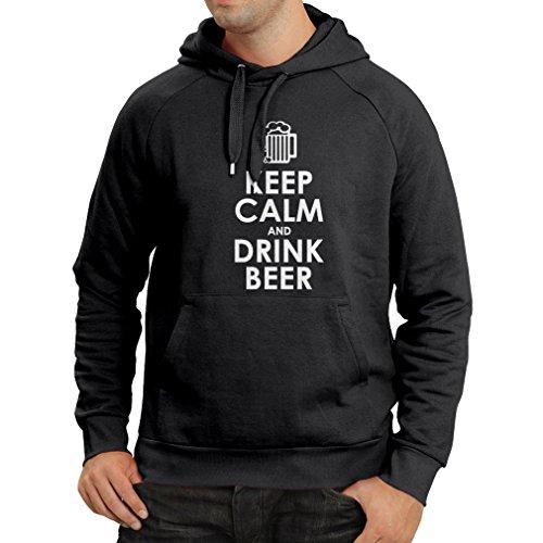 n4166h-keep-calme-et-boire-de-la-bire-manches-longues-sweat-a-capuche-l-noir-blanc