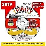 TRINITY Windows RETTUNG CD/DVD| Windows 10 ® Windows 8 | 7| Vista| XP=RECHNER REPARATUR ORIGINAL von STILTEC ©