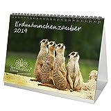 Erdmännchenzauber · DIN A5 · Premium Tischkalender/Kalender 2019 · Erdmännchen · Afrika · Tiere · Wildnis · Natur · Edition Seelenzauber