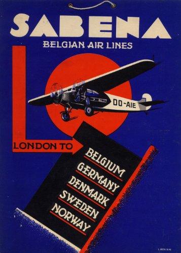 vintage-aviation-viaggio-belgio-sabena-compagnie-aeree-per-il-belga-air-line-london-beligium-germani