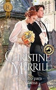 Un anillo para una dama par Christine Merrill