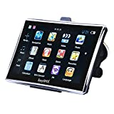 EasySMX 7 zoll GPS Navigator Navi mit Vorgeladene Karten TFT LCD Touch Screen Musik/Movie Player Multi-Sprache (Navigation GPS Devices)