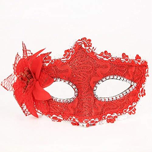 Nannday Party Maske, Sexy Augenmaske mit Feder