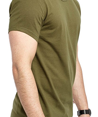 Phoenix Oversize Under T-Shirt Herren Longshirt Olive