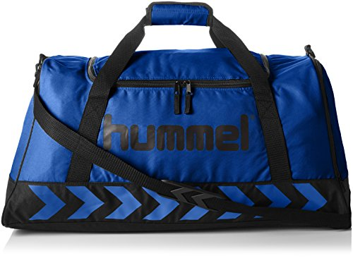 Hummel Authentic Sports Bag Sporttasche, Größe:XS, blau(True Blue/Black), 40x23x21cm, 14 Liter