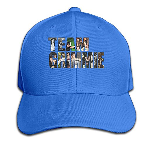 thna-christina-grimmie-logo-adjustable-fashion-baseball-cap-royalblue