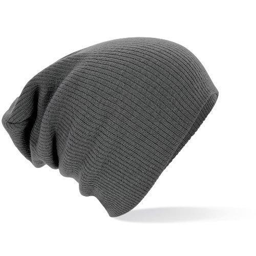beechfield-berretto-grigio-grigio-taglia-unica