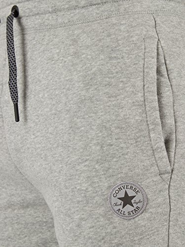 Converse Homme Core Logo Panneau réfléchissant Marled Joggers, Gris Grey