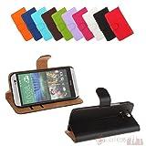 Bralexx Bookstyle Tasche für HTC One M8 schwarz