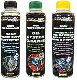 POWEMAXX Kit Kit Pulizia e Cura Motore Diesel Common Rail+ Nano Engine+Oil System Care