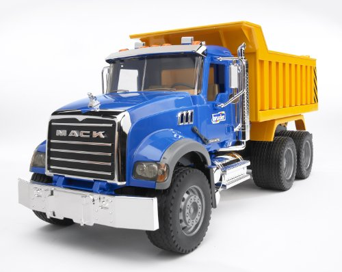 Image of Bruder 02815 MACK Granite Tip Up Truck