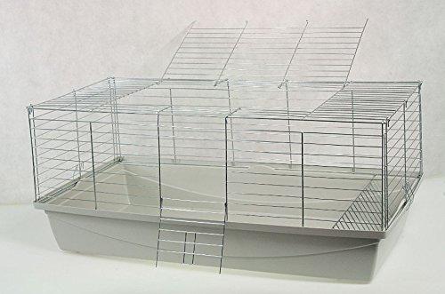 Nagerkäfig,Hasenkäfig,Meerschweinkäfig,Käfig,Rabbit,Zwergkaninchen ca. 70x40x40cm