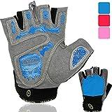 NetroxSports Trainingshandschuhe für Herren und Damen - atmungsaktive und leichte Fitness Handschuhe mit extra Grip Silikon Pads für Bodybuilding...