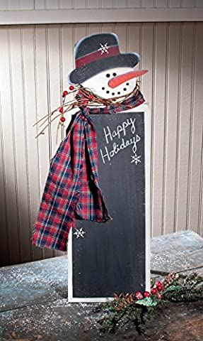 25 Snowman Chalkboard on Stand Buffet Menu Christmas Sign by Ohio Wholesale