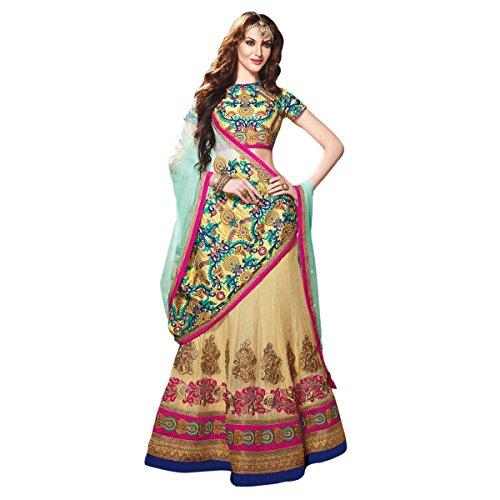 triveni-womens-indian-traditional-indian-sensational-multi-color-stone-worked-khaadi-cotton-lehenga-