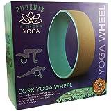 Phoenix Fitness Unisex Cork Yoga Rad