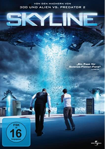 Skyline Amazon De Eric Balfour Scottie Thompson Brittany Daniel David Zayas Donald Faison Neil Hopkins Crystal Reed Robin Gammell Tanya Newbould J Paul Boehmer Colin Strause Eric Balfour Scottie Thompson Dvd Blu Ray