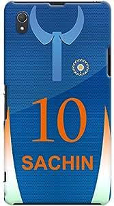 Kasemantra Sachin Jersey Case For Sony Xperia Z1