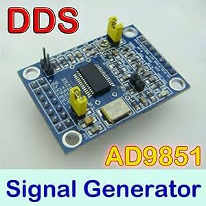 AD9851 Module DDS Signal Generator 0-70 MHz 2 Sine Wave