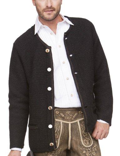 Stockerpoint Herren Trachtenjacke Jacke Magnus3, Gr. Medium (Herstellergröße: 48), Schwarz (anthrazit)