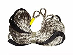 3/8 Customized Length Synthetic winch rope for winch 11000LB or less