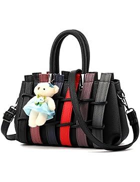 Neue Frauen Handtasche Leder Schulter Geldbörse Tote Messenger Crossbody Satchel Bag