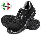 Uvex Motion Style S1 Zapatos de Seguridad - Zapatillas de Trabajo con Punta de Acero...