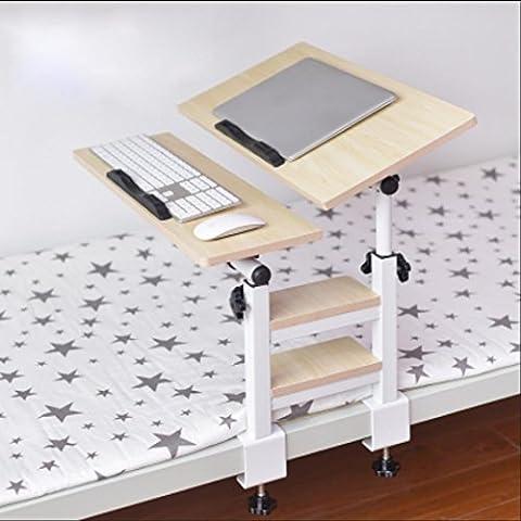 Dormitorio dormitorio artefacto de escritorio del ordenador portátil cama plegable, cama litera con poca rotación tablas libro perezoso , 4
