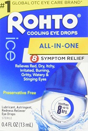 ROHTO V ICE REDNESS RELF DROPS 13 ML
