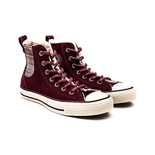 Converse All Star Chelsea Shearling W chaussures Deep Bordeaux/Natural/Egret