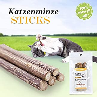 20 PCS Matatabi Sticks, Beetset Cat Catnip Sticks Cleaning Teeth Natural SilverVine Matatabi Dental Chew Sticks Teeth Grinding Snacks Food Treats Toys 20 PCS Matatabi Sticks, Beetset Cat Catnip Sticks Cleaning Teeth Natural SilverVine Matatabi Dental Chew Sticks Teeth Grinding Snacks Food Treats Toys 51ohRcYGpCL