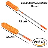 #5: HOMIZE™ Car Microfiber Duster for Home, Office, Expandable Duster, Large, Random Colors
