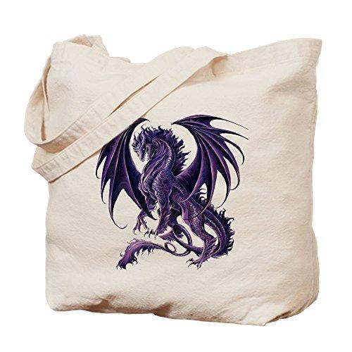 CafePress–Ruth Thompson 's Draconis Nox Dragon–Leinwand Natur Tasche, Reinigungstuch Einkaufstasche Tote S khaki