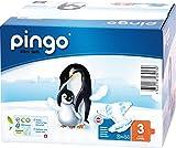 Pingo - Couches PINGO T3 écologiques et biodégradables 4/9kg (176 couches)