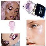 Jaminy Farbe Glitter Lidschatten Diamant Regenbogen Make up Kosmetik Augenschatten (E)