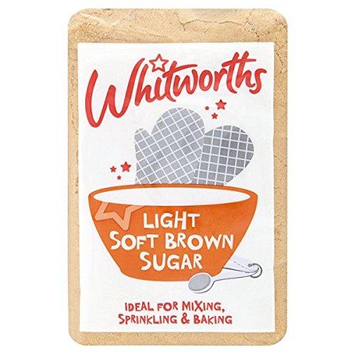 Whitworths Licht weicher brauner Zucker 500 g (Packung mit 5 x 500 g)