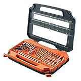 Black+Decker A7152-XJ Juego de 35 Piezas para atornillar y taladrar