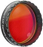 Baader Planetarium 2458307 MC-vergütet Farbfilter (1¼ Zoll, 610nm) rot