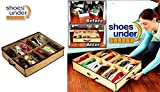 #4: Premium Quality Under the bed shoe organiser box for 12 Pairs. Shoe organizer