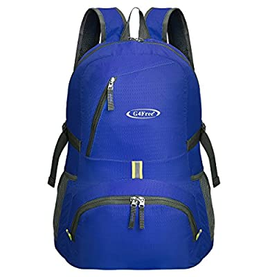 G4Free 30L Ultra Lightweight Tear & Water Resistant Foldable Travel Hiking Backpack