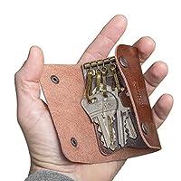 Balvi - l'Hédoniste portachiavi in pelle. Portachiavi da uomo. Organizer per chiavi. Portachiavi da uomo. Ordina le tue chiavi senza rovinare le tue tasche. Fabbricato in pelle. Regalo originale da uomo. Dimensioni: 1,7x10,5x6 cm Materiale: p...
