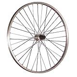 Taylor Wheels 26 pollici ruota posteriore bici mozzo Shimano Tourney argento