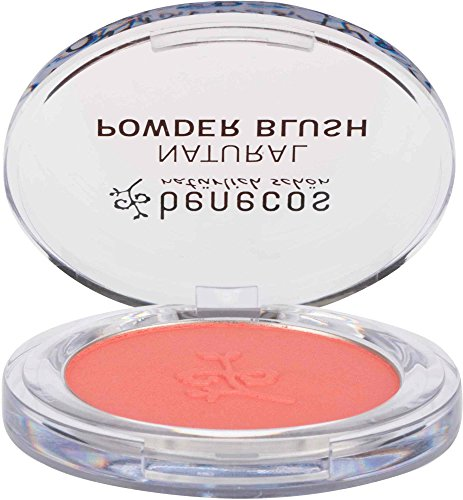 BENECOS   Colorete Compacto Rosa Salmón   Para cutis
