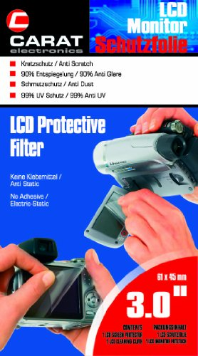 Carat Electronics LCD Schutzfolie (61x45 mm)
