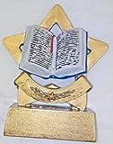 Mini trofeo con stella e lettura 8.2cm,con incisione