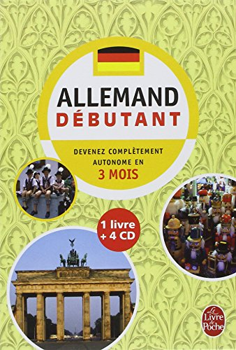L'allemand : Débutant (4CD audio) par Camille Sorg